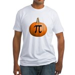 Pumpkin Pie Fitted T-Shirt