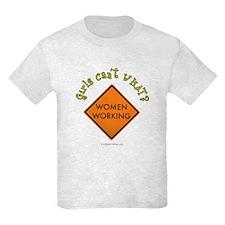 Women Working Sign T-Shirt