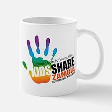 Kids Share Zambia Logo Mugs