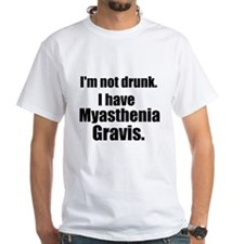 2-sided Plain Tee: I'm Not Drunk. I Have MG