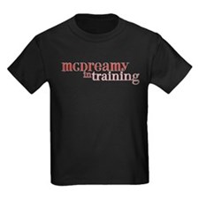 McDreamy in Training Kids Dark T-Shirt