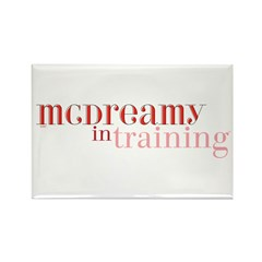 McDreamy in Training Rectangle Magnet
