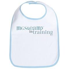 McSteamy in Training Bib