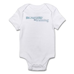 McSteamy in Training Infant Bodysuit