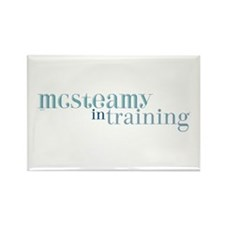 McSteamy in Training Rectangle Magnet