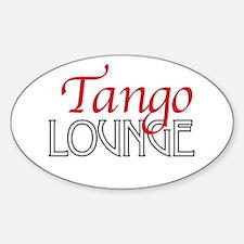 Tango Lounge Sticker (Oval 10 pk)