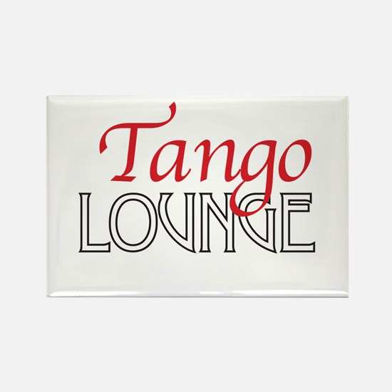 Tango Lounge Rectangle Magnet