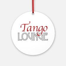 Tango Lounge Ornament (Round)