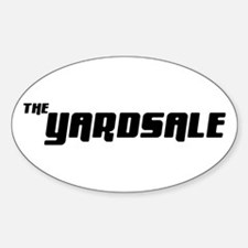 The Yardsale Oval Decal