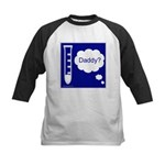 Test Tube Daddy Kids Baseball Jersey