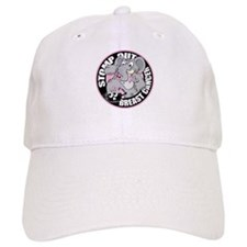 Stomp Out Breast Cancer Baseball Cap