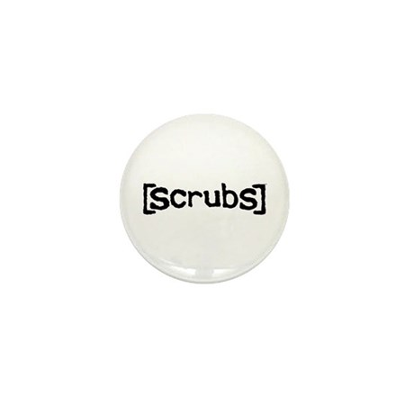 Scrubs Logo Mini Button