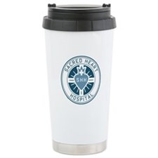 Sacred Heart Color Travel Mug