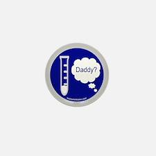 Test Tube Daddy Mini Button