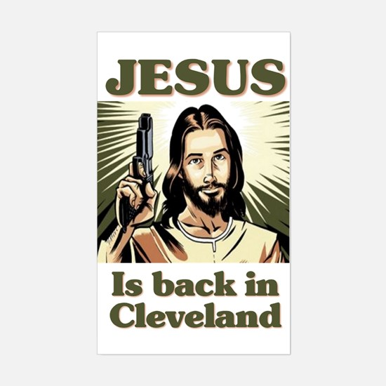 Back in Cleveland Sticker (Rectangle)