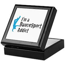 I'm a DanceSport Addict (male Keepsake Box