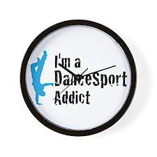 I'm a DanceSport Addict (male Wall Clock