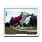 Farm, Albert the Bull, largest statue, Mousepad