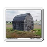 Farm, Barn, boarded uo. Mousepad