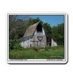 Farm, Barn, Monroe County, Iowa, Mousepad