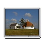 Round Barn, Illinois, Mousepad