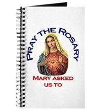Pray the Rosary - Journal Notebook (b)