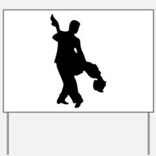 Couple Silhoutte Yard Sign