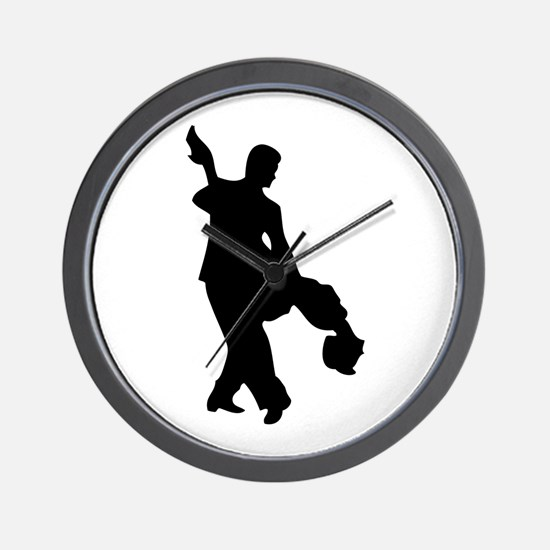 Couple Silhoutte Wall Clock