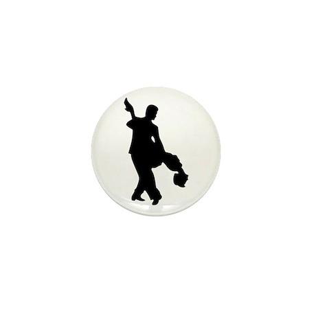 Couple Silhoutte Mini Button (10 pack)