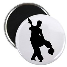 "Couple Silhoutte 2.25"" Magnet (100 pack)"