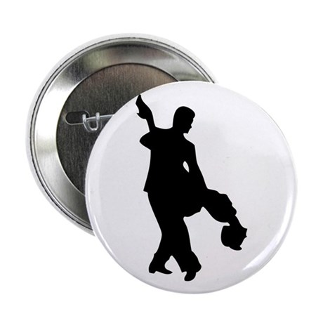 """Couple Silhoutte 2.25"""" Button (10 pack)"""