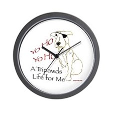 A Tripawds Life Wall Clock