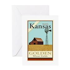 Travel Kansas Greeting Card