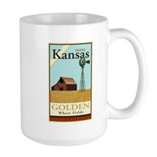 Travel Kansas Mug