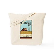 Travel Kansas Tote Bag