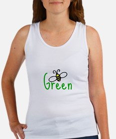 bee green Women's Tank Top