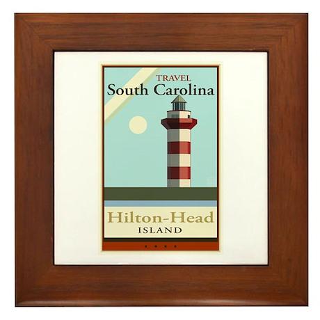 Travel South Carolina Framed Tile