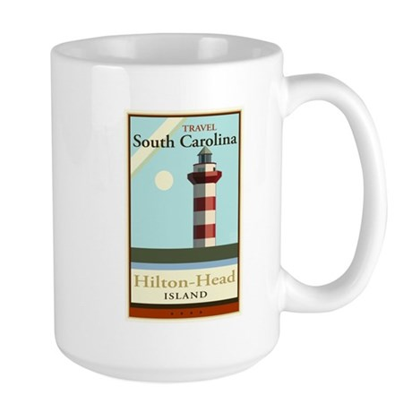 Travel South Carolina Large Mug
