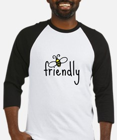 bee friendly Baseball Jersey