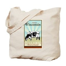 Travel Wisconsin Tote Bag