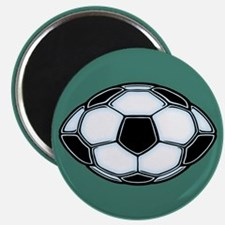 Soocerfootball Ball Magnet