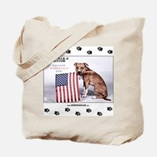 Saving America's Dog Tote Bag