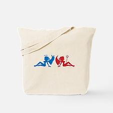 Cute Angel babe Tote Bag