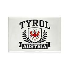 Tyrol Austria Rectangle Magnet
