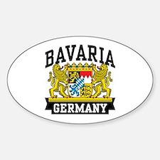Bavaria Germany Sticker (Oval)