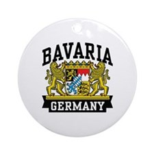 Bavaria Germany Ornament (Round)