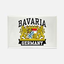 Bavaria Germany Rectangle Magnet