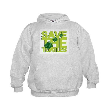 SAVE TURTLES Kids Hoodie