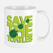 SAVE TURTLES Mug