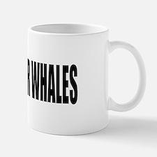 I BRAKE for WHALES parody Mug